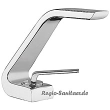 Single lever washbasin mixer chrome with up and down pop-up waste,<br>AN: WO830101015