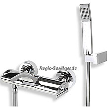 Single lever bathtub mixer chrome with shower set,<br>AN: WO850101015