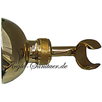 Wall-mounted adjustable shower holder gold 24 Karat,<br>AN: AC0439010