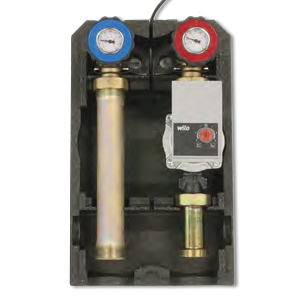 Direct distribution unit complete with variable speed circulator, Art. 715